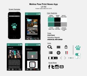 Paw Print UI Kit
